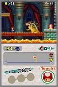 Lava, bro, Bowser, knap - kan du regne den ud? Det klassiske gameplay er tilbage.