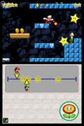 Luigi vs Mario. Da man ogs� kan skyde ildkugler efter hinanden, bliver det aldrig kun et sp�rgsm�l om at v�re hurtigst.