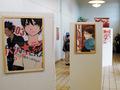 Nogle af Junko Mizunos v�rker var ligesom forrige �r udstillet i galleriet, men da det var liges� umuligt at skyde billeder af dem som sidste �r, m�tte jeg n�jes med andet og mere lettilg�ngeligt artwork.