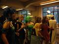 ...Og der var stadig adskillige timer til aftenens cosplay-event.