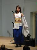 En betuttet Yuna fra Final Fantasy X.